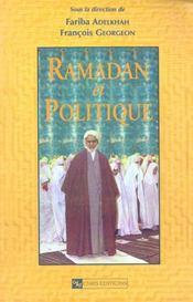 Ramadan Et Politique - Intérieur - Format classique