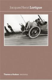 Jacques-Henri Lartigue (Photofile) /Anglais - Couverture - Format classique