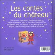 Contes Du Chateau - 4ème de couverture - Format classique