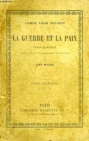 La Guerre Et La Paix, 3 Tomes - Couverture - Format classique