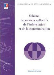 Schema de services collectifs de l'information et de la communication - Intérieur - Format classique