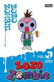 Zozo zombie T.1 - Couverture - Format classique