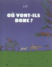 Ou Vont-Ils Donc ? - Intérieur - Format classique