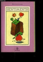 Dictionnaire Des Sentiments - Couverture - Format classique