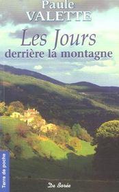 Jours derriere la montagne (les)(ae) - Intérieur - Format classique