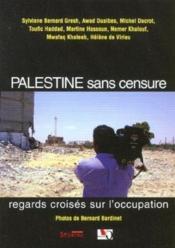 Palestine sans censure - Couverture - Format classique