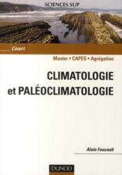 Climatologie et paléoclimatologie - Couverture - Format classique