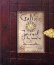 Galilée ; journal des inventions et découvertes - Couverture - Format classique