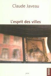 L'Esprit Des Villes - Intérieur - Format classique