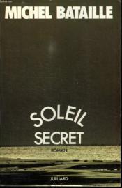 Soleil Secret. - Couverture - Format classique