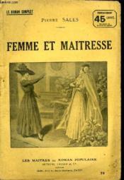 Femme Et Maitresse. - Couverture - Format classique