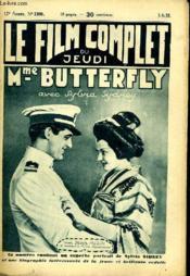 Le Film Complet Du Jeudi N° 1360 - 12e Annee - Mme Butterfly - Couverture - Format classique