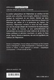 Opium Petrole & Islamisme La Triade Du Crime En Afghanistan - 4ème de couverture - Format classique