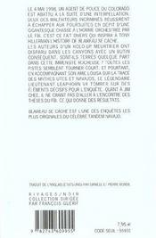 Blaireau Se Cache - 4ème de couverture - Format classique