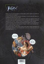 Krän le barbare T.6 ; l'encyclopédie de Krän - 4ème de couverture - Format classique