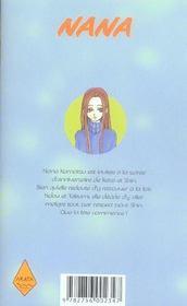Nana t.13 - 4ème de couverture - Format classique
