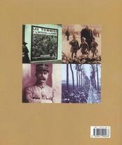 Histoire illustrée de la Première Guerre mondiale - 4ème de couverture - Format classique