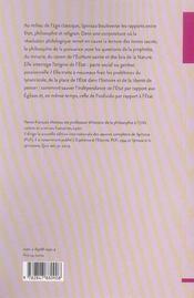 Spinoza. etat et religion - 4ème de couverture - Format classique