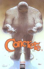 Concrete T.1 - Intérieur - Format classique