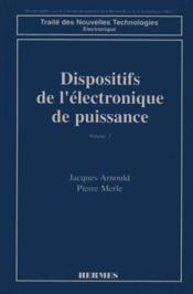 Dispositifs de l'electronique de puissance - Couverture - Format classique