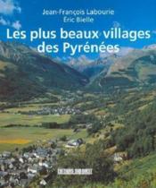 Les plus beaux villages des pyrenees - Couverture - Format classique