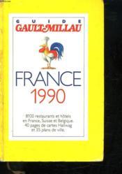 Gault Millau France 1990 - Couverture - Format classique