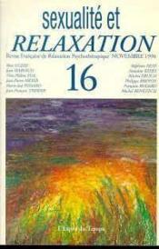 Rev fran.relax.psy.16 96 sexual.rela - Couverture - Format classique