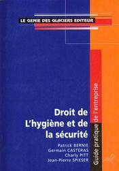 Droit De L'Hygiene Et De La Securite - Intérieur - Format classique