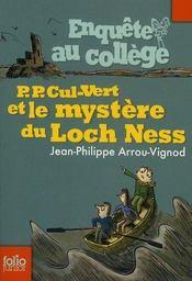 Enquête au collège T.5 ; P.P. Cul-Vert et le mystère du Loch Ness - Intérieur - Format classique