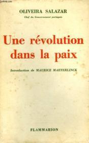 Une Revolution Dans La Paix. - Couverture - Format classique