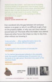 The Undercover Economist - 4ème de couverture - Format classique