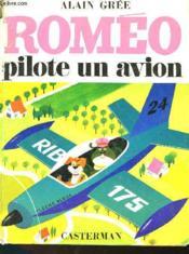 Romeo Pilote Un Avion - Couverture - Format classique