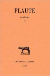 Comédies t.4 - Couverture - Format classique