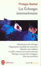 Les Echanges Internationaux - Intérieur - Format classique