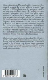 La Sorciere Dormante - 4ème de couverture - Format classique