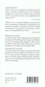 Olivier leroi - 4ème de couverture - Format classique