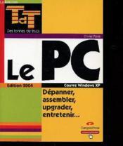 Pc Tdt - Couverture - Format classique
