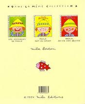 Paola c'est moi (coloriages paola) - 4ème de couverture - Format classique