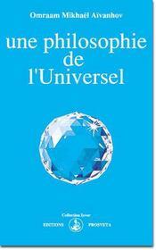 Une philosophie de l'universel - Intérieur - Format classique