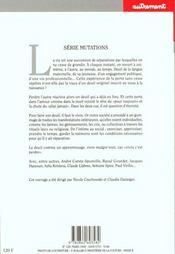 Deuils - 4ème de couverture - Format classique