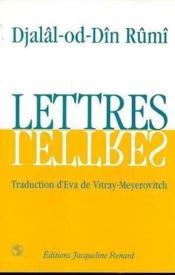 Lettres - Couverture - Format classique