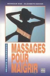 Massages Pour Maigrir - Couverture - Format classique