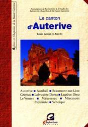 Le Canton D'Auterive - Couverture - Format classique