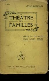 Le Theatre Des Familles. - Couverture - Format classique
