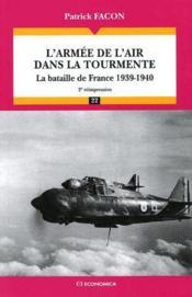 L'armée de l'air dans la tourmente ; la bataille de France, 1939-1940 - Couverture - Format classique