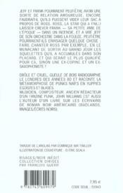 Gueule De Bois - 4ème de couverture - Format classique
