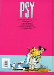 Les psy t.5 ; vous avez rendez-vous? - 4ème de couverture - Format classique