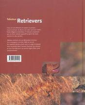 Retriever - 4ème de couverture - Format classique
