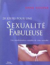 28 jours pour une sexualite fabuleuse - Intérieur - Format classique