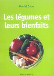 Les légumes et leurs bienfaits - Intérieur - Format classique